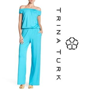 Trina Turk Annalisa Jumpsuit  NWT!!